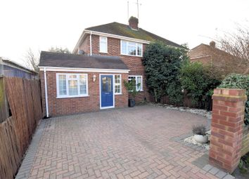 Thumbnail 4 bed semi-detached house for sale in Worcester Close, Southcote, Reading