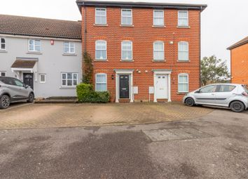 Thumbnail 5 bed town house for sale in Saffron Road, Chafford Hundred, Grays