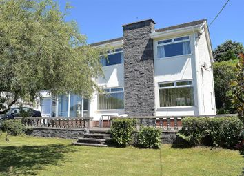 Thumbnail 4 bed detached house for sale in Tirmynydd Road, Three Crosses, Swansea