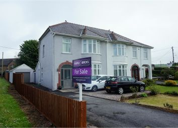 Thumbnail 3 bed semi-detached house for sale in Llannon Road, Llanelli