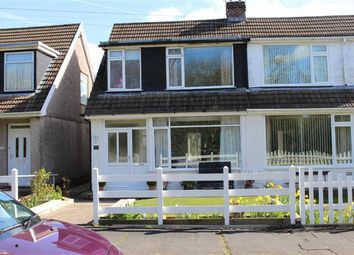 Thumbnail 3 bed property for sale in Woodcote, Killay, Swansea