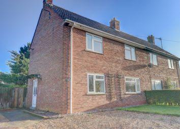 Thumbnail 3 bed semi-detached house for sale in Benns Lane, Terrington St. Clement, King's Lynn