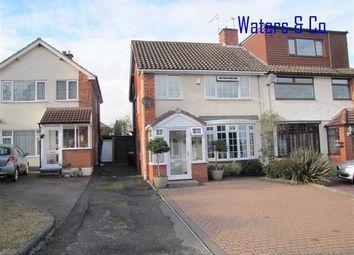 Thumbnail 3 bed semi-detached house for sale in Norton Road, Coleshill, Birmingham