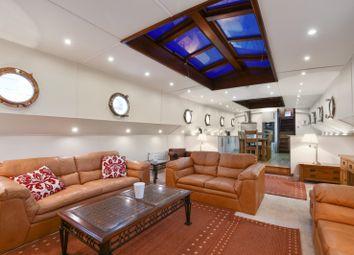Thumbnail 3 bedroom houseboat for sale in Lovegrove Walk, London