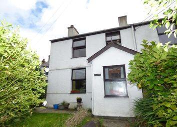 Thumbnail 2 bed end terrace house for sale in Tanrallt Terrace, Llanllyfni, Caernarfon, Gwynedd