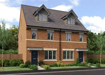 "Thumbnail 3 bed town house for sale in ""The Tolkien"" at Low Lane, Acklam, Middlesbrough"