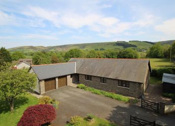 Thumbnail 4 bed detached bungalow for sale in Llangammarch Wells, Powys
