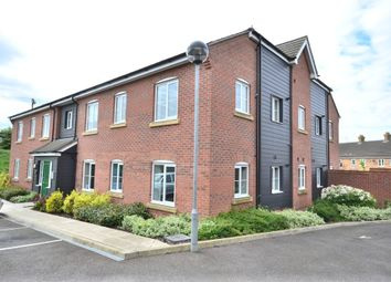 Thumbnail 2 bedroom flat for sale in Savage Close, King's Lynn