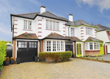 Thumbnail 4 bed semi-detached house for sale in Western Road, Leigh-On-Sea, Essex