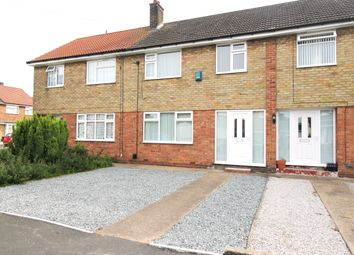 Thumbnail 3 bed terraced house to rent in Brigg Drive, Hessle