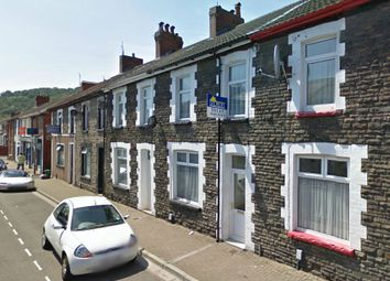 Thumbnail 1 bed terraced house to rent in Queen Street, Treforest, Pontypridd