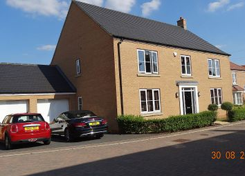 Thumbnail 5 bedroom detached house for sale in Stretham Gardens, Papworth Everard, Cambridge, Cambridgeshire