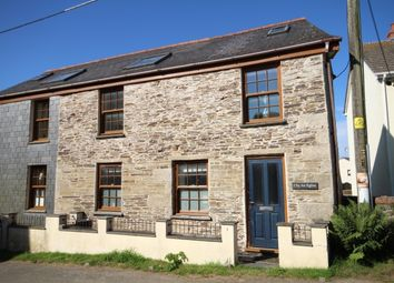 Thumbnail 2 bed semi-detached house for sale in Wadebridge Road, St. Mabyn, Bodmin