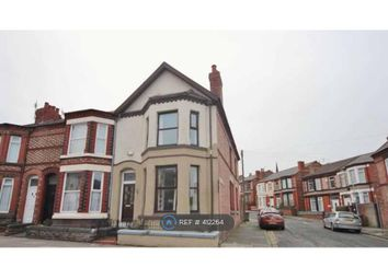 Thumbnail 3 bed end terrace house to rent in Woodchurch Road, Wirral