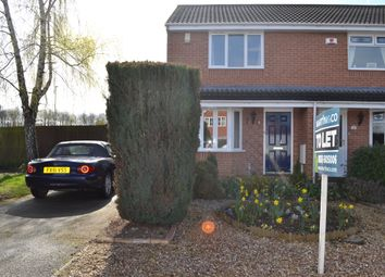 Thumbnail 2 bed semi-detached house to rent in Staple Lane, Balderton, Newark