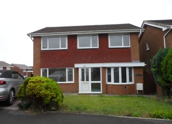 Thumbnail 4 bed detached house to rent in The Willows, Bridgend