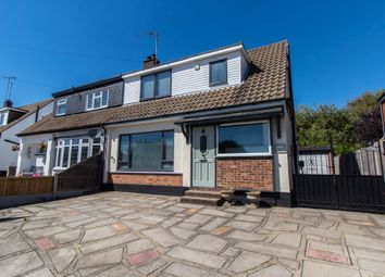 Thumbnail 3 bed semi-detached bungalow for sale in Burlington Gardens, Benfleet