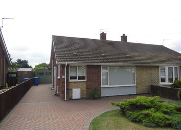 Thumbnail 2 bed semi-detached bungalow for sale in Skamacre Crescent, Lowestoft