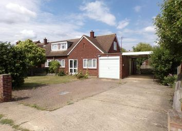 Thumbnail 3 bed bungalow for sale in Fields Road, Wootton, Bedford, Bedfordshire