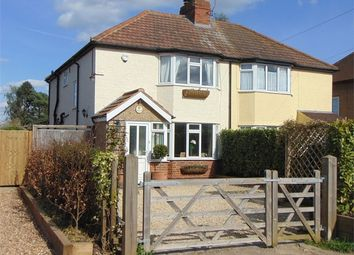 Thumbnail 3 bed semi-detached house for sale in Shurlock Road, Waltham St Lawrence, Reading, Berkshire