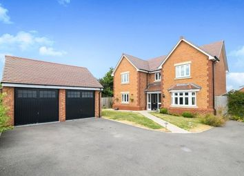Thumbnail 4 bed detached house for sale in Harvest Close, Honeybourne, Evesham, Worcestershire