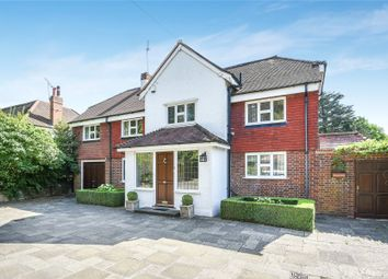 Thumbnail 4 bed detached house for sale in Downe Road, Keston