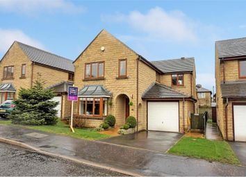 Thumbnail 4 bed detached house for sale in Holly Bank, Elland