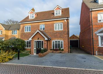 Thumbnail 5 bedroom detached house for sale in Chalkhill Barrow, Melbourn, Royston, Cambridgeshire