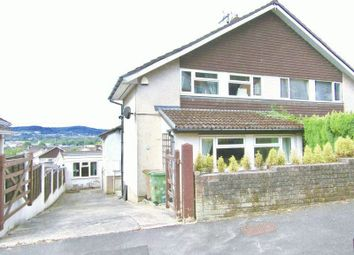 Thumbnail 3 bed semi-detached house for sale in Tor View, Bedwas, Caerphilly