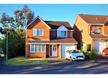 Thumbnail 4 bed detached house for sale in Hazel Close, Swadlincote