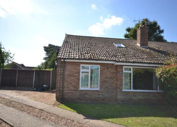 Thumbnail 3 bed property for sale in Long View Close, Snettisham, King's Lynn