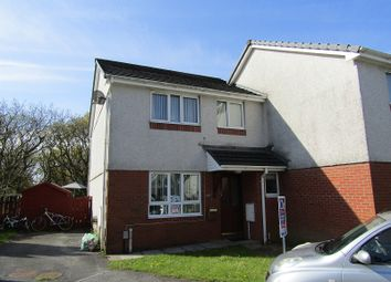 Thumbnail 3 bedroom semi-detached house for sale in Clos Rhedyn, Cwmrhydyceirw, Swansea.