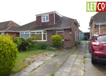Thumbnail 3 bed semi-detached bungalow to rent in Rowland Road, Fareham