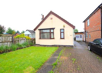 Thumbnail 1 bedroom bungalow for sale in Holmfield Avenue West, Leicester Forest East, Leicester