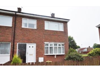 Thumbnail 3 bed end terrace house for sale in Chichester Close, Ashington
