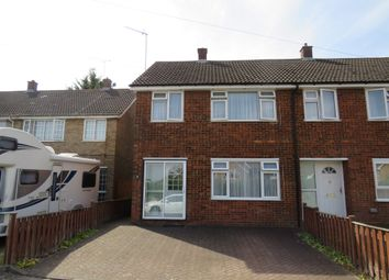 Thumbnail 3 bed end terrace house for sale in Wheatfield Road, Luton