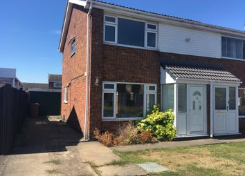 Thumbnail 3 bedroom semi-detached house for sale in Tamar Road, Melton Mowbray