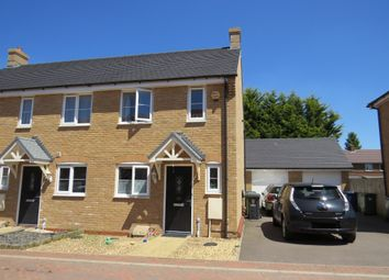 Thumbnail 2 bed end terrace house for sale in Windmill Place, Papworth Everard, Cambridge