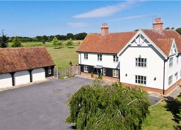 Thumbnail 6 bed detached house for sale in Marks Hall Lane, White Roding, Dunmow, Essex