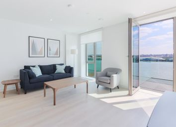 Thumbnail 2 bedroom flat for sale in Thameside House, Royal Wharf, London