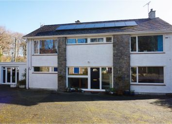 Thumbnail 4 bed detached house for sale in Lon Fron, Llangefni