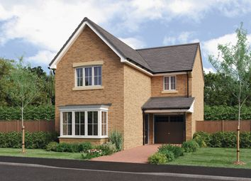 Thumbnail 3 bed detached house for sale in Cresswell Court, Hadston, Morpeth
