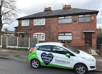 Thumbnail 3 bed semi-detached house to rent in Folkestone Road East, Manchester