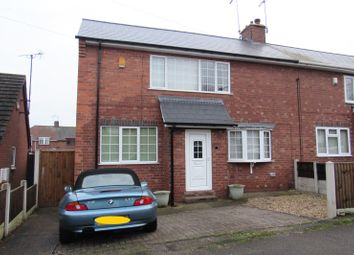 Thumbnail 3 bed semi-detached house to rent in Booth Crescent, Mansfield, Nottinghamshire