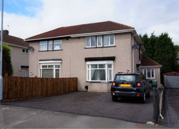 Thumbnail 4 bed semi-detached house for sale in Park Drive, Newport