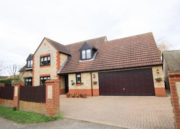 Thumbnail 5 bed detached house for sale in Gidney Lane, Soham, Ely