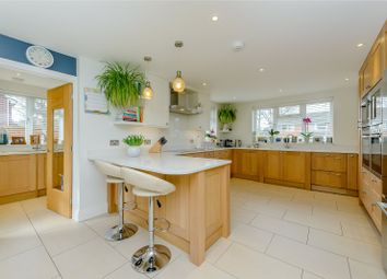 Thumbnail 4 bed detached house for sale in Oakwood Road, Windlesham, Surrey