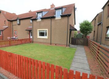 Thumbnail 2 bed end terrace house for sale in St. Johns Avenue, Falkirk