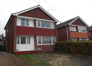 Thumbnail 3 bed detached house for sale in Brownlow Drive, Rise Park, Nottingham, Nottinghamshire