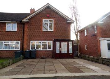 Thumbnail 2 bed property to rent in Cossington Road, Erdington, Birmingham